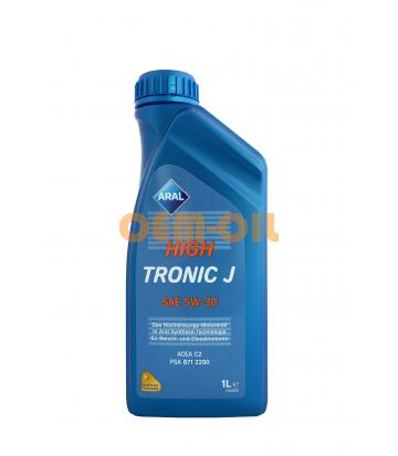 Моторное масло ARAL HighTronic J SAE 5W-30 (1л)