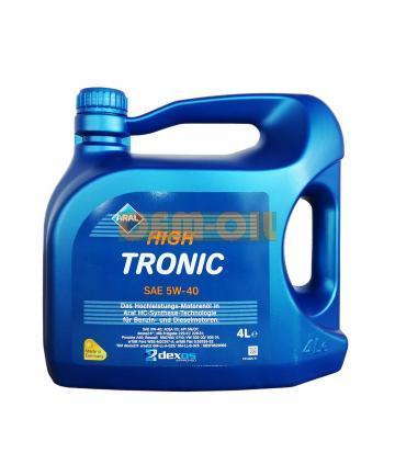 Моторное масло ARAL High Tronic SAE 5W-40 (4л)