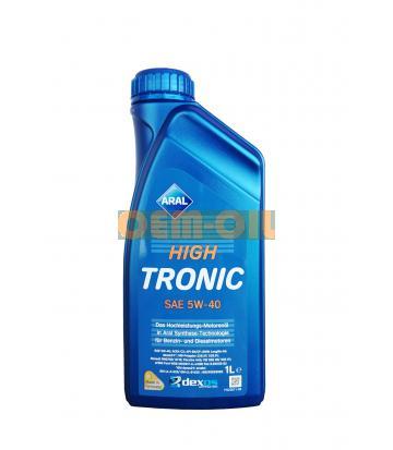 Моторное масло ARAL High Tronic SAE 5W-40 (1л)