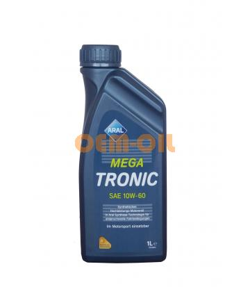 Моторное масло Aral Mega Tronic SAE 10W-60 (1л)