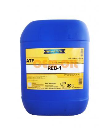 Трансмиссионное масло RAVENOL ATF RED-1 (20л) new