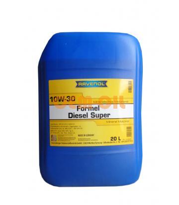 Моторное масло RAVENOL Formel Diesel Super 10W-30 (20л) new