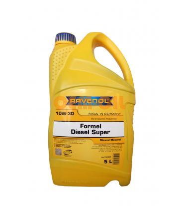 Моторное масло RAVENOL Formel Diesel Super 10W-30 (5л) new
