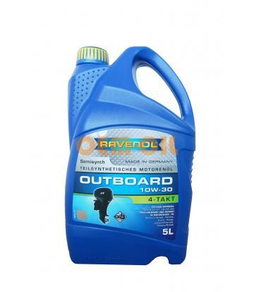 Моторное масло для 4-T лод.моторов RAVENOL Outboardoel 4T SAE 10W-30 (5л) new