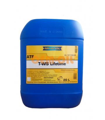 Трансмиссионное масло RAVENOL ATF T-WS Lifetime (20л)