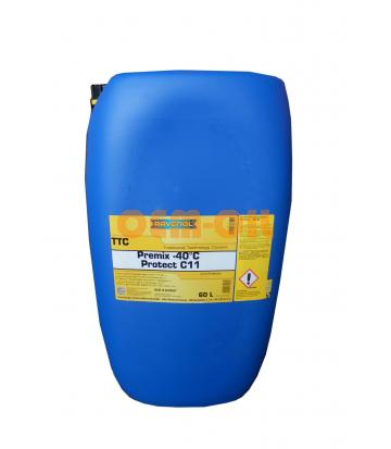 Антифриз RAVENOL TTC Traditional Technology Coolant Premix (60л)