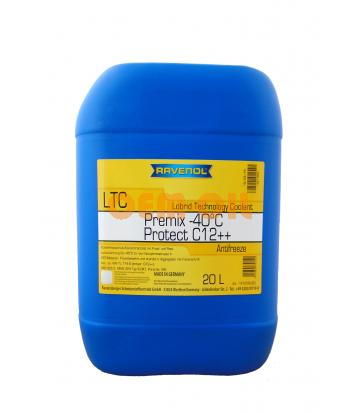 Антифриз готовый к прим. лила RAVENOL LTC Lobrid Technology Coolant Premix -40° C12++ (20л)