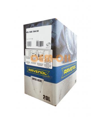 Моторное масло RAVENOL HCL SAE 5W-30 (20л) ecobox