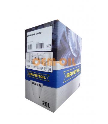 Моторное масло RAVENOL WIV III SAE 5W-30 (20л) ecobox