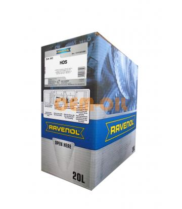Моторное масло RAVENOL HDS Hydrocrack Diesel Specif SAE 5W-30 (20л) ecobox
