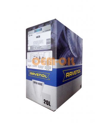 Моторное масло RAVENOL HCS SAE 5W-40 (20л) ecobox