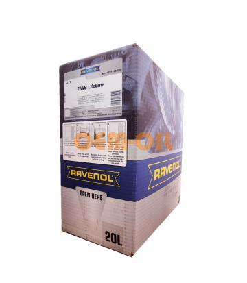 Трансмиссионное масло RAVENOL ATF T-WS Lifetime (20л) ecobox