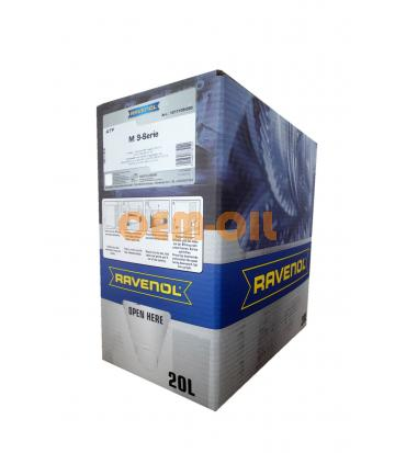 Трансмиссионное масло RAVENOL ATF MB 9-Serie (20л) ecobox