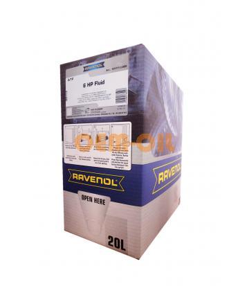 Трансмиссионное масло RAVENOL ATF 6 HP Fluid (20л) ecobox