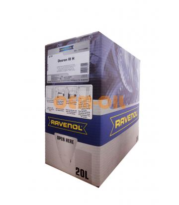 Трансмиссионное масло RAVENOL ATF Dexron III H (20л) ecobox