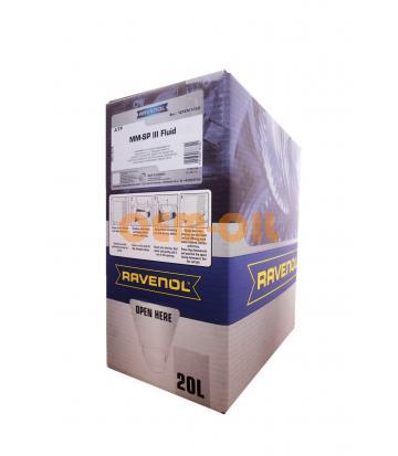 Трансмиссионное масло RAVENOL ATF MM SP-III Fluid (20л) ecobox