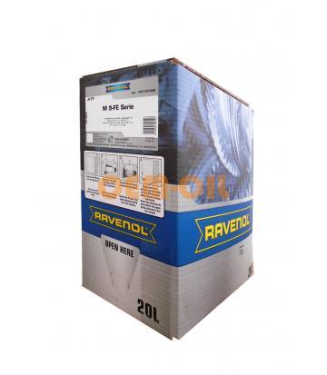 Трансмиссионное масло RAVENOL ATF M 9FE-Serie (20л) ecobox