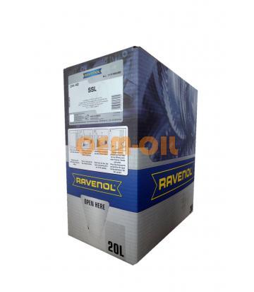 Моторное масло RAVENOL Super Synthetik Oel SSL SAE 0W-40 (20л) ecobox