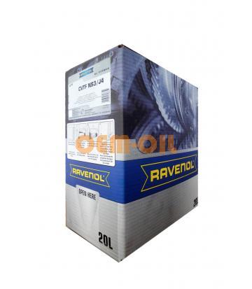 Трансмиссионное масло RAVENOL CVTF NS3/J4 Fluid (20л) ecobox