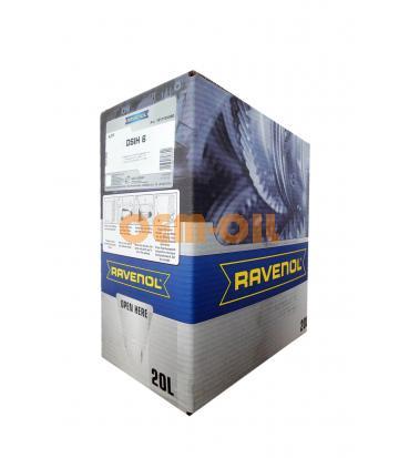 Трансмиссионное масло RAVENOL ATF DSIH 6 (20л) ecobox