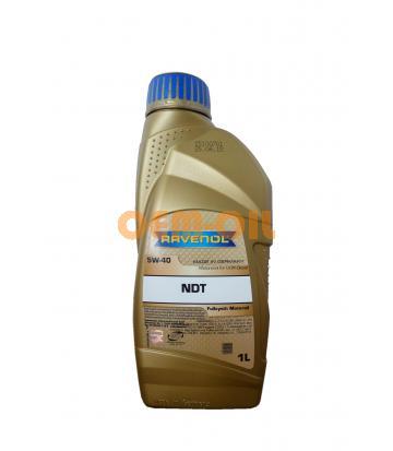 Моторное масло RAVENOL NDT SAE 5W-40 (1л) new