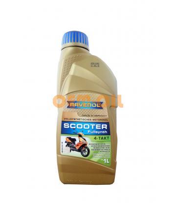 Моторное масло для 4-Такт скутеров RAVENOL Scooter 4-Takt Fullsynth. (1л) new