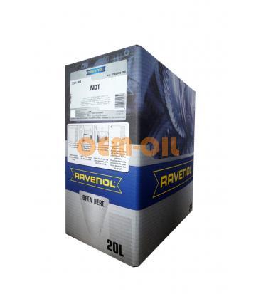 Моторное масло RAVENOL NDT SAE 5W-40 (20л) ecobox
