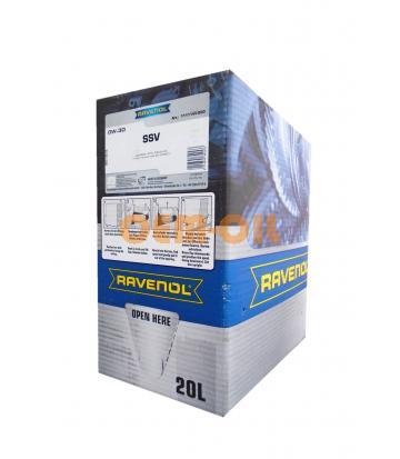Моторное масло RAVENOL SSV Fuel Economy SAE 0W-30 (20л) ecobox