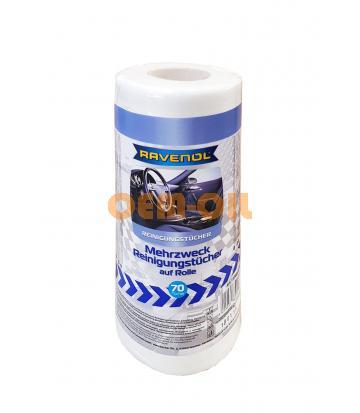 Полотенца в рулоне отрывные RAVENOL (70 шт.)