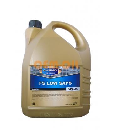 Моторное масло AVENO FS Low SAPS SAE 5W-30 (4л)
