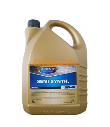 Моторное масло AVENO Semi Synth. SAE 10W-40 (4л)