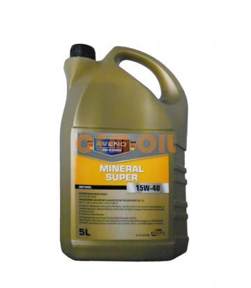 Моторное масло AVENO Mineral Super SAE 15W-40 (5л)