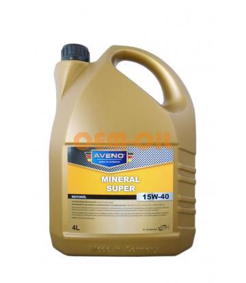 Моторное масло AVENO Mineral Super SAE 15W-40 (4л)