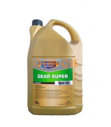 Трансмиссионное масло AVENO Gear Super SAE 80W-90 (5л)