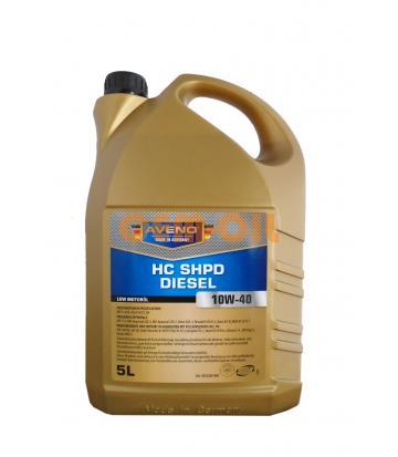 Моторное масло AVENO HC-SHPD Diesel SAE 10W-40 (5л)