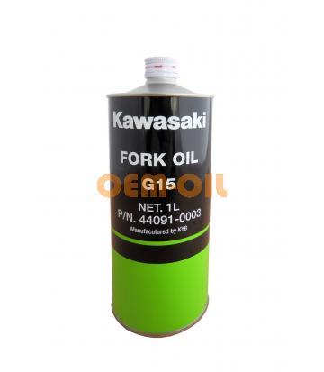 Вилочное масло KAWASAKI Fork Oil G15 SAE 15W (1л)