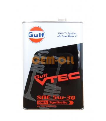 Моторное масло GULF VTEC SAE 5W-30 (4л)