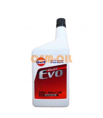 Моторное масло GULF Evo SAE 10W-50 (1л)