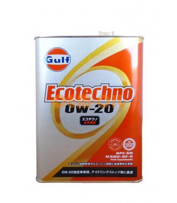Моторное масло GULF Ecotechno SAE 0W-20 (4л)