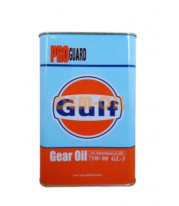 Трансмиссионное масло GULF PRO Guard Gear SAE 75W-90 (1л)