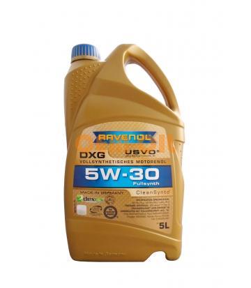 Моторное масло RAVENOL DXG SAE 5W-30 (5л)