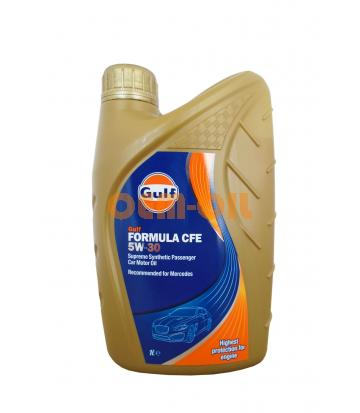 Моторное масло GULF Formula CFE SAE 5W-30 (1л)