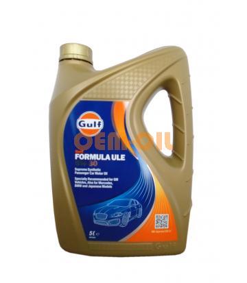 Моторное масло GULF Formula ULE SAE 5W-30 (5л)
