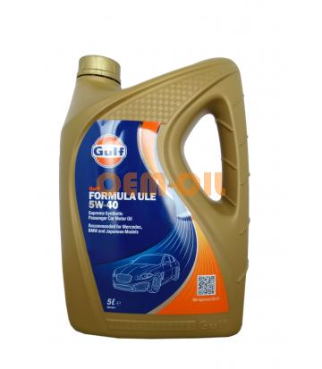 Моторное масло GULF Formula ULE SAE 5W-40 (5л)