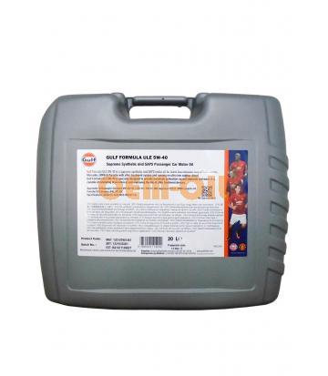 Моторное масло GULF Formula ULE SAE 5W-40 (20л)
