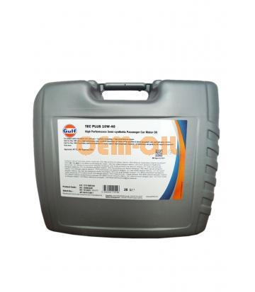 Моторное масло GULF TEC Plus SAE 10W-40 (20л)