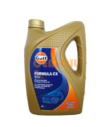 Моторное масло GULF Formula CX SAE 5W-30 (4л)