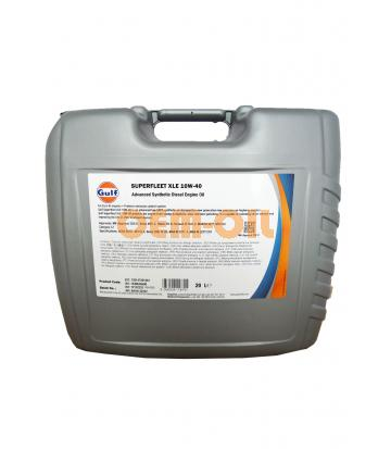 Моторное масло GULF Superfleet XLE SAE 10W-40 (20л)