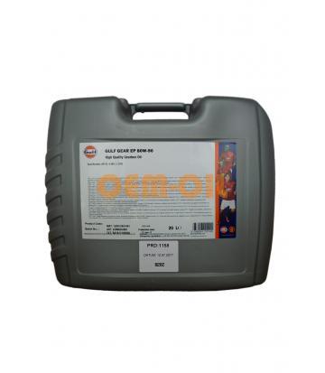 Трансмиссионное масло GULF Gear EP SAE 80W-90 (20л)