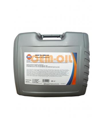 Трансмиссионное масло GULF Gear TDL SAE 85W-140 (20л)